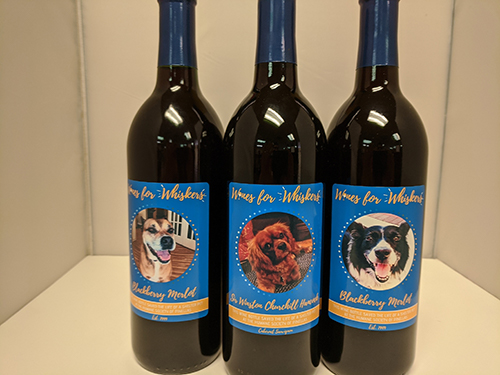 Wines for Whiskers Has Moved to ITS Own Page Under donate.
